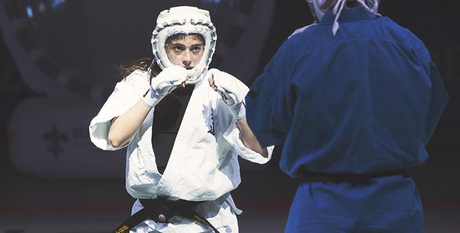Кристина Степанян цель занять только первое место
